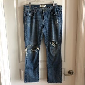 Abercrombie and Fitch Ripped jeans